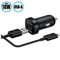 Samsung EP-LN930BBEGWW Fast Car Charger Mini - Black
