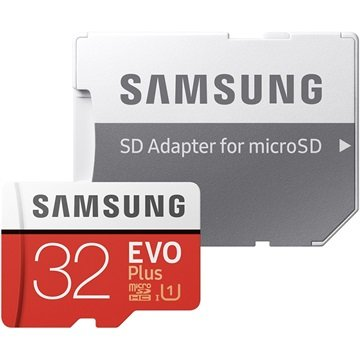 Samsung Evo Plus MicroSDHC Memory Card MB-MC32GA/EU - 32GB