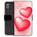 Samsung Galaxy A10 Premium Wallet Case - Love