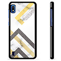 Samsung Galaxy A10 Protective Cover - Abstract Marble