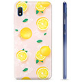 Samsung Galaxy A10 TPU Case - Lemon Pattern