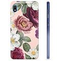 Samsung Galaxy A10 TPU Case - Romantic Flowers