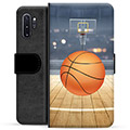 Samsung Galaxy Note10+ Premium Wallet Case - Basketball