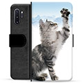 Samsung Galaxy Note10+ Premium Wallet Case - Cat