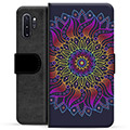 Samsung Galaxy Note10+ Premium Wallet Case - Colorful Mandala
