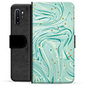 Samsung Galaxy Note10+ Premium Wallet Case - Green Mint
