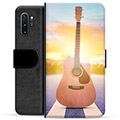 Samsung Galaxy Note10+ Premium Wallet Case - Guitar
