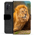 Samsung Galaxy Note10+ Premium Wallet Case - Lion