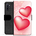 Samsung Galaxy Note10+ Premium Wallet Case - Love