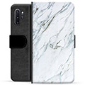 Samsung Galaxy Note10+ Premium Wallet Case - Marble
