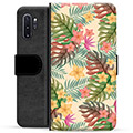 Samsung Galaxy Note10+ Premium Wallet Case - Pink Flowers