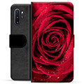 Samsung Galaxy Note10+ Premium Wallet Case - Rose