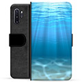 Samsung Galaxy Note10+ Premium Wallet Case - Sea