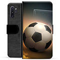 Samsung Galaxy Note10+ Premium Wallet Case - Soccer