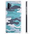 Samsung Galaxy Note10+ TPU Case - Blue Camouflage