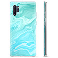 Samsung Galaxy Note10+ TPU Case - Blue Marble
