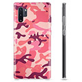 Samsung Galaxy Note10+ TPU Case - Pink Camouflage