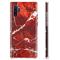 Samsung Galaxy Note10+ TPU Case - Red Marble