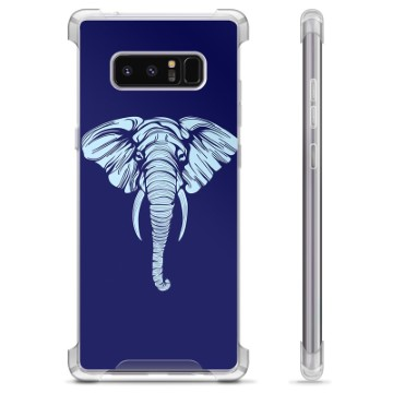 Samsung Galaxy Note8 Hybrid Case - Elephant