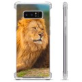 Samsung Galaxy Note8 Hybrid Case - Lion