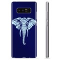 Samsung Galaxy Note8 TPU Case - Elephant