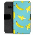 Samsung Galaxy Note8 Premium Wallet Case - Bananas