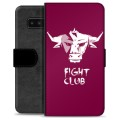 Samsung Galaxy Note8 Premium Wallet Case - Bull