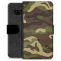 Samsung Galaxy Note8 Premium Wallet Case - Camo