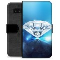 Samsung Galaxy Note8 Premium Wallet Case - Diamond