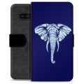 Samsung Galaxy Note8 Premium Wallet Case - Elephant