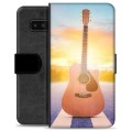 Samsung Galaxy Note8 Premium Wallet Case - Guitar