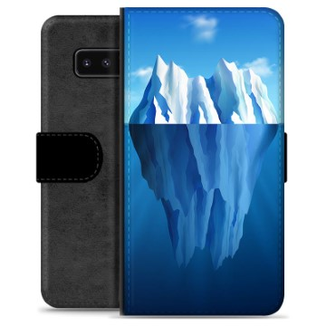 Samsung Galaxy Note8 Premium Wallet Case - Iceberg