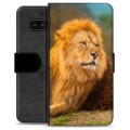 Samsung Galaxy Note8 Premium Wallet Case - Lion
