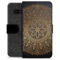 Samsung Galaxy Note8 Premium Wallet Case - Mandala