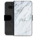 Samsung Galaxy Note8 Premium Wallet Case - Marble
