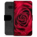 Samsung Galaxy Note8 Premium Wallet Case - Rose