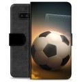 Samsung Galaxy Note8 Premium Wallet Case - Soccer