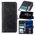 Samsung Galaxy S10 Lite, Galaxy A91 Wallet Case with Magnetic Closure - Black