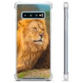 Samsung Galaxy S10 Hybrid Case - Lion