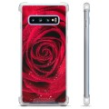 Samsung Galaxy S10 Hybrid Case - Rose