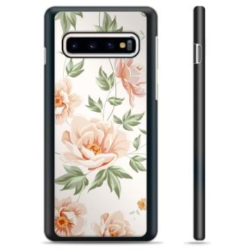 Samsung Galaxy S10 Protective Cover - Floral