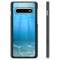 Samsung Galaxy S10+ Protective Cover - Sea