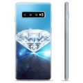 Samsung Galaxy S10+ TPU Case - Diamond