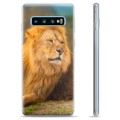 Samsung Galaxy S10 TPU Case - Lion