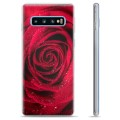Samsung Galaxy S10 TPU Case - Rose