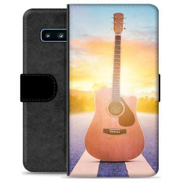 Samsung Galaxy S10 Premium Wallet Case - Guitar