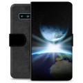 Samsung Galaxy S10 Premium Wallet Case - Space