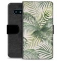 Samsung Galaxy S10 Premium Wallet Case - Tropic