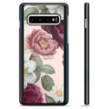 Samsung Galaxy S10+ Protective Cover - Romantic Flowers