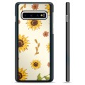 Samsung Galaxy S10+ Protective Cover - Sunflower